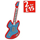 more details on Chad Valley Electronic Toy Guitar - Red.
