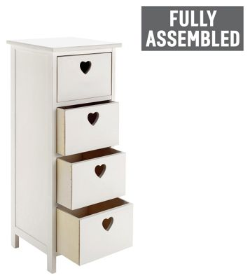 makeup storage drawers argos 1