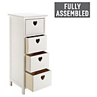 more details on 4 Drawer Storage Unit - White.
