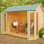 more details on Homewood Blenheim Wooden Summerhouse - 10 x 6ft.