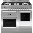 more details on Britannia RC-10XGG-QL-S Dual Fuel Range Cooker - SSteel.