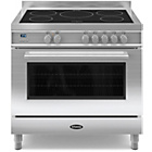 more details on Britannia RC-9SI-QL-S 90cm Dual Fuel Range Cooker - SSteel.
