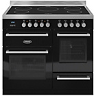 more details on Britannia RC-10XGI-QL-K Dual Fuel Range Cooker - Black.