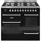 more details on Britannia RC-10XGG-QL-K Dual Fuel Range Cooker - Black.