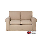 more details on Charlotte Regular Fabric Sofa with Loose Cover - Taupe.