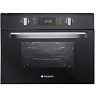 more details on Hotpoint MWH424.1X Microwave - Black Glass.