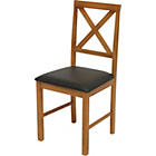 more details on Hudson Pair of Solid Wood Dining Chairs.