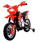more details on Dirt Bike Style Ride On Bike - Red.