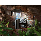 more details on Solar Traditional Solar Wall Light - Black.