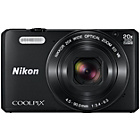 more details on Nikon S7000 Coolpix Compact 16MP 20x Zoom Camera - Black.