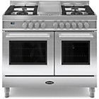 more details on Britannia RC-10TG-QL-S Dual Fuel Range Cooker - SSteel.
