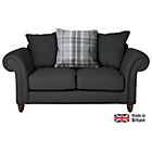 more details on Heart of House Windsor Regular Fabric Sofa - Charcoal.