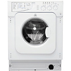 more details on Indesit Ecotime IWME 127 Built-in Washing Machine - White