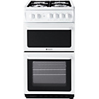 more details on Hotpoint HAG51P Freestanding Single Gas Cooker - White.