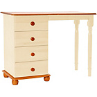 more details on Stavern 4 Drawer Dressing Table - Cream.