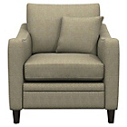 more details on Heart of House Newbury Fabric Check Chair - Beige.
