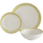 more details on ColourMatch Scratch 12 Piece Porcelain Dinner Set - Green.