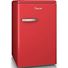 more details on Swan SR1103RN Retro Larder Fridge - Red.
