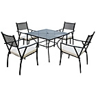 more details on Merida 4 Seater Garden Dining Set.