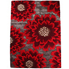 more details on Unique Poppy Rug - 120 x 180cm - Red.