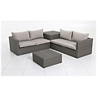 more details on Rattan 4 Seater Garden Corner Sofa and Table Set.