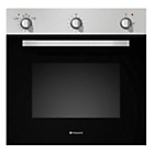 more details on Hotpoint SHY23X Single Electric Oven - Stainless Steel.