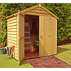 more details on Homewood Wooden Overlap Shed - 4 x 6ft.