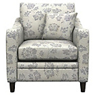 more details on Heart of House Newbury Tanaro Floral Cuddle Chair - Grey.
