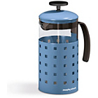 more details on Morphy Richards Accents 8 Cup 1000ml Cafetiere - C.F Blue.