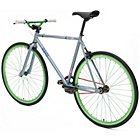 more details on Chill Bike 58cm with Green Rims - Grey.