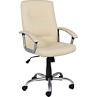 more details on Elliot Gas Lift Office Chair - Cream.