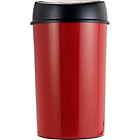 more details on 50 Litre Touch Top Kitchen Bin - Poppy Red.