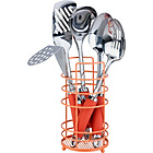 more details on ColourMatch Stainless Steel 5 Pc Kitchen Utensils Set- Coral