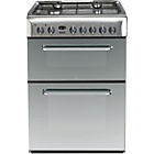 more details on Indesit KDP60SE S Freestanding Cooker - S/Steel