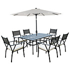 more details on Merida 6 Seater Garden Dining Set.