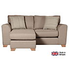 more details on Ashdown Fabric Dual Facing Corner Sofa Group - Taupe.