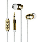 more details on Ted Baker Dover In Ear Headphones - White and Gold.