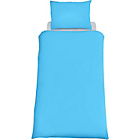 more details on ColourMatch Sky Blue Bedding Set - Double.