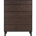 more details on Kolding 5 Drawer Chest - Smoky Oak Effect.