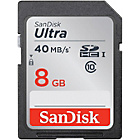 more details on SanDisk Ultra 40MBs SD Memory Card - 8GB.