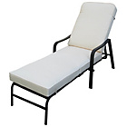 more details on Barcelona Cushioned Garden Lounger.
