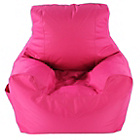 more details on Large Teenage Chair Beanbag - Pink.