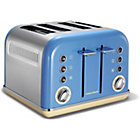 Morphy Richards 242007 Accents Four Slice Toaster - Blue