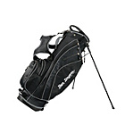 more details on Ben Sayers Golf X-Lite Stand Bag - Black/Silver.