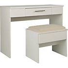 more details on Normandy Dressing Table and Stool - White.