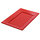 more details on Set of 9 Serving Platters - Red.