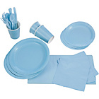 more details on Solid Colours Party Kit - Baby Blue.