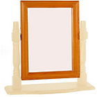 more details on Stavern Pine Dressing Table Mirror - Cream.