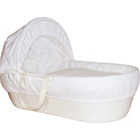 more details on Shnuggle Ivory Moses Basket with Ivory Covers and Mattress.