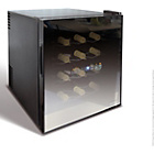 more details on Husky HN5 Reflections Tabletop Wine Cooler - Black.